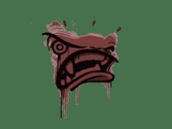 Sealed Graffiti   Rage Mode (Brick Red)