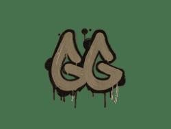 Sealed Graffiti | GGEZ (Dust Brown)