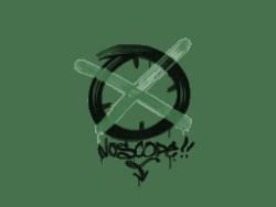 Sealed Graffiti | Noscope (Jungle Green)