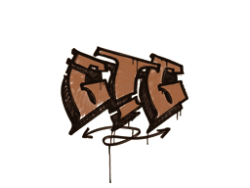 Sealed Graffiti   GTG (Tiger Orange)