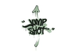 Sealed Graffiti | Jump Shot (Cash Green)