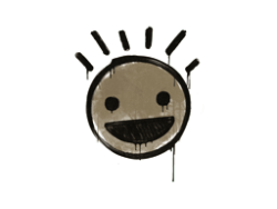 Sealed Graffiti | Still Happy (Dust Brown)