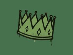 Sealed Graffiti   King Me (Battle Green)