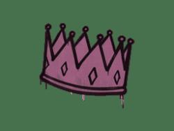 Sealed Graffiti | King Me (Princess Pink)