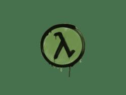 Sealed Graffiti | Lambda (Battle Green)