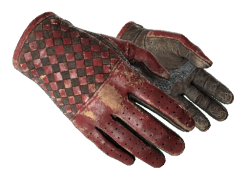 ★ Driver Gloves | Crimson Weave (Battle-Scarred)