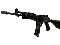 StatTrak™ Galil AR | Black Sand (Battle-Scarred)