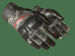 ★ Moto Gloves | Boom! (Well-Worn)