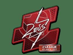 Sticker | Zeus | Atlanta 2017