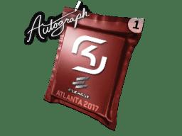 亲笔签名胶囊 | SK Gaming | 2017年亚特兰大锦标赛
