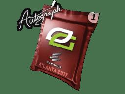 亲笔签名胶囊   OpTic Gaming   2017年亚特兰大锦标赛