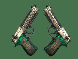 StatTrak™ Dual Berettas   Royal Consorts (Factory New)