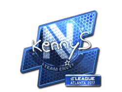 Sticker | kennyS (Foil) | Atlanta 2017
