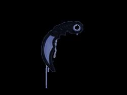 Sealed Graffiti | Karambit (SWAT Blue)