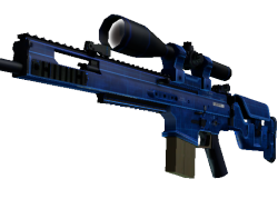 StatTrak™ SCAR-20 | Blueprint (Minimal Wear)