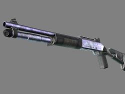 Souvenir XM1014   Blue Steel (Battle-Scarred)