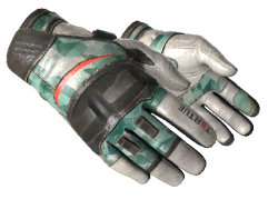 ★ Moto Gloves | Spearmint (Well-Worn)