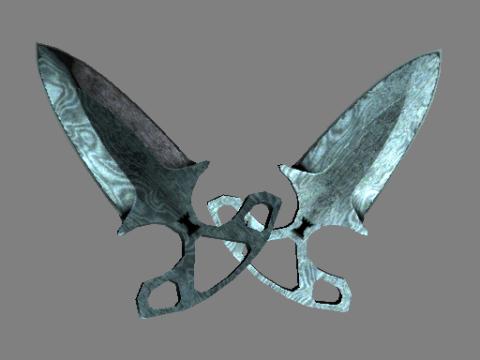 暗影双匕(★) | 大马士革钢 (战痕累累)