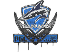 Sealed Graffiti | Vega Squadron | Krakow 2017
