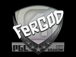 Sticker | fer | Krakow 2017
