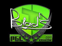 Sticker | B1ad3 | Krakow 2017