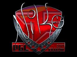 Sticker | NiKo (Foil) | Krakow 2017