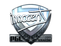 Sticker | innocent (Foil) | Krakow 2017