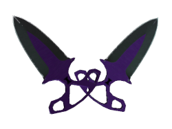 ★ StatTrak™ Shadow Daggers | Ultraviolet (Field-Tested)