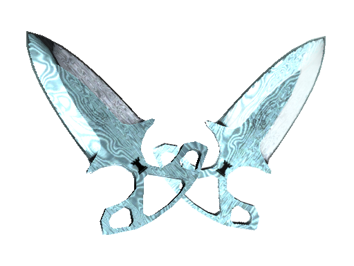 ★ Shadow Daggers | Damascus Steel (Minimal Wear)