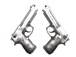 Souvenir Dual Berettas   Stained (Well-Worn)