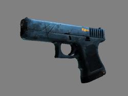StatTrak™ Glock-18 | Off World (Well-Worn)