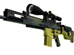 StatTrak™ SCAR-20 | Jungle Slipstream (Minimal Wear)