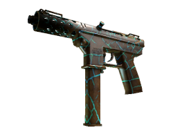 StatTrak™ Tec-9 | Cracked Opal (Minimal Wear)