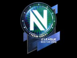 Sticker | Team EnVyUs (Holo) | Boston 2018
