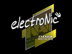 Sticker | electronic | Boston 2018