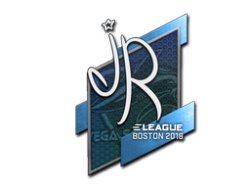 Sticker   jR   Boston 2018