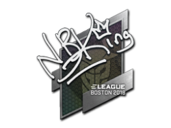 Sticker   NBK-   Boston 2018