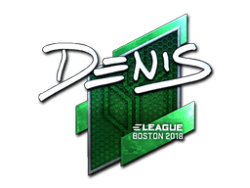 Sticker | denis (Foil) | Boston 2018