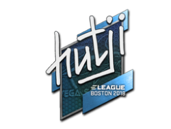 Sticker | hutji | Boston 2018