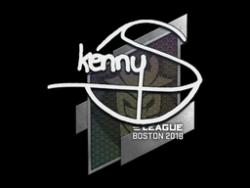 Sticker | kennyS | Boston 2018