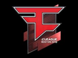Sticker | FaZe Clan | Boston 2018