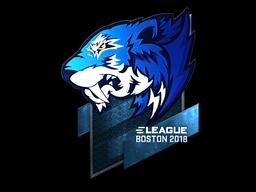 Sticker   Flash Gaming (Foil)   Boston 2018