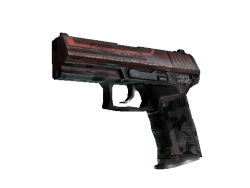 StatTrak™ P2000 | Urban Hazard (Well-Worn)