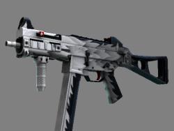 UMP-45(StatTrak™) | 白狼 (略有磨损)
