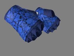 ★ Hand Wraps | Cobalt Skulls (Minimal Wear)