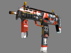 StatTrak™ MP7 | Bloodsport (Minimal Wear)