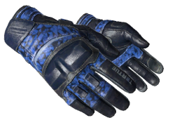 ★ Moto Gloves | Polygon (Well-Worn)