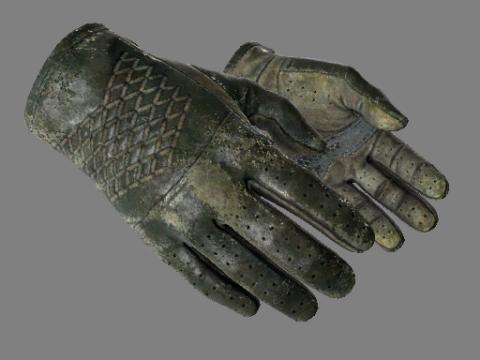 驾驶手套(★)   墨绿色调 (战痕累累)