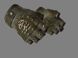 ★ Hydra Gloves | Mangrove (Well-Worn)