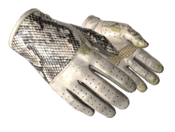 ★ Driver Gloves | King Snake (Well-Worn)